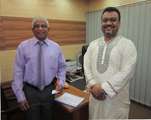 Meeting with Mr. Sam Stembo, Chief Global Officer, BMS, Sri Lanka